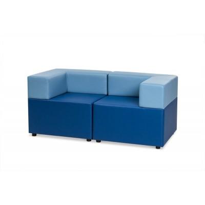 Куб: диван двухместный