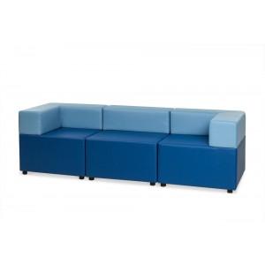 Куб: диван трехместный