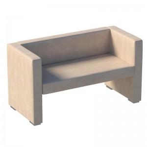 Бриф: диван двухместный