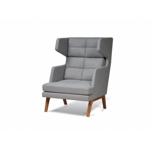Кресло Беверли с высокой спинкой ткань