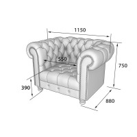 Честер: кресло